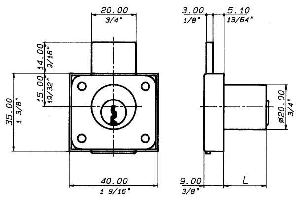 2241 Technical drawing