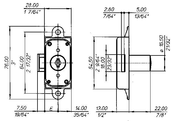 2687 Technical drawing