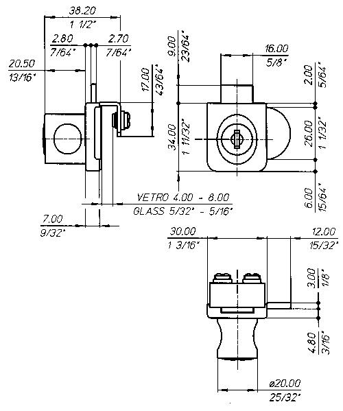 26G4 Technical drawing