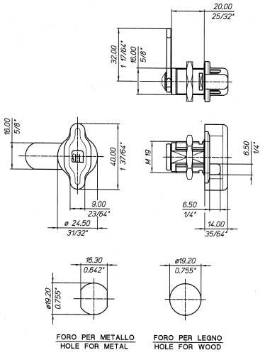 2751 Technical drawing