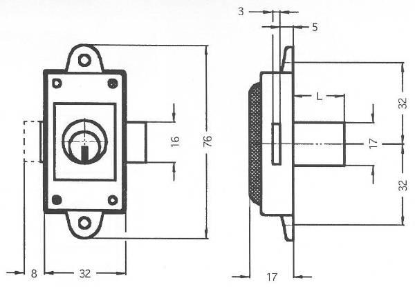 2A85 Technical drawing