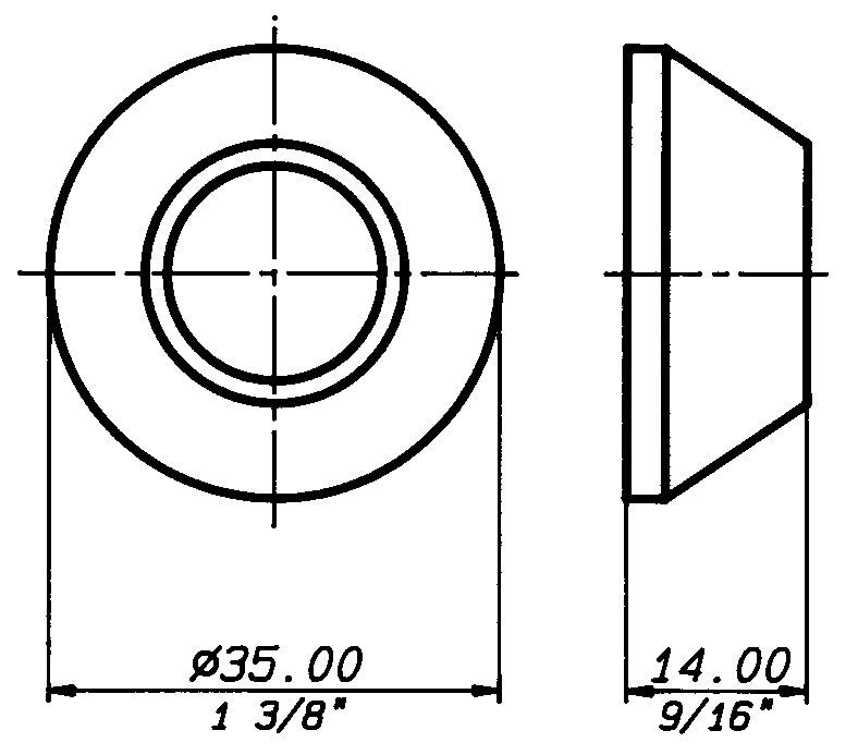 O870G Technical drawing