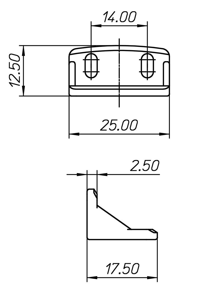 O807R Technical drawing