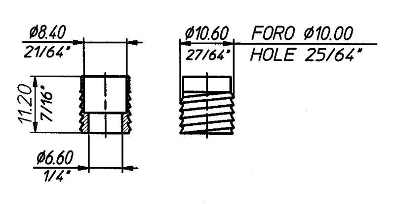 O806 Technical drawing